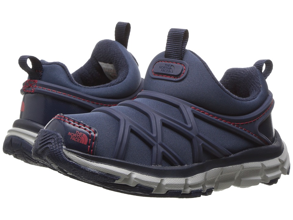 The North Face Kids - Litewave Slip-On WP (Toddler/Little Kid) (Cosmic Blue/TNF Red) Boys Shoes