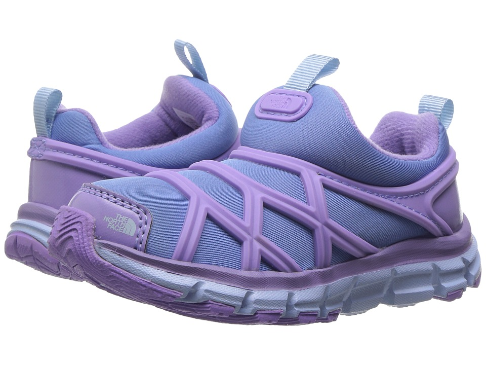 The North Face Kids - Litewave Slip-On WP (Toddler/Little Kid) (Paisley Purple/Provence Blue) Girls Shoes