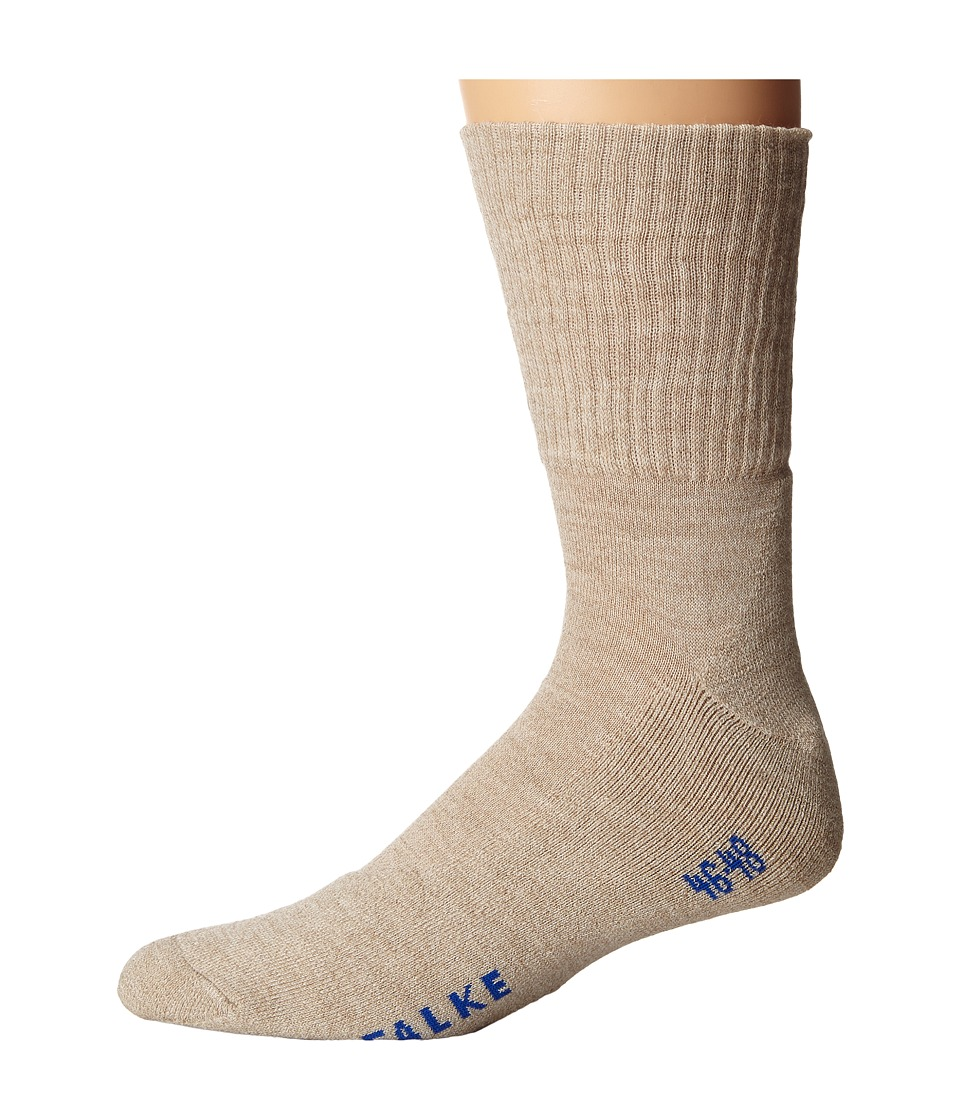 Falke - Walkie Light Socks (Sand Melange) Men's No Show Socks Shoes
