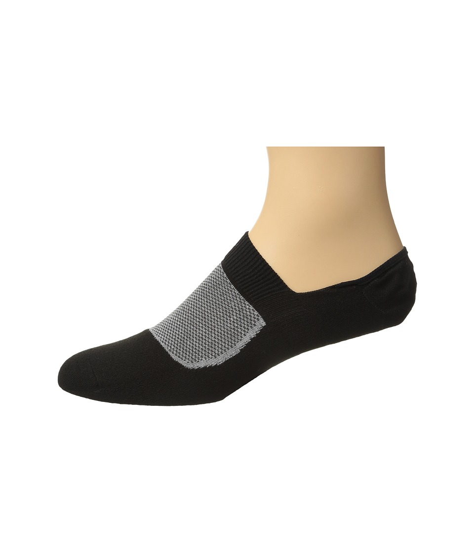 Falke - RU Legend? Invisible (Black) Men's Crew Cut Socks Shoes