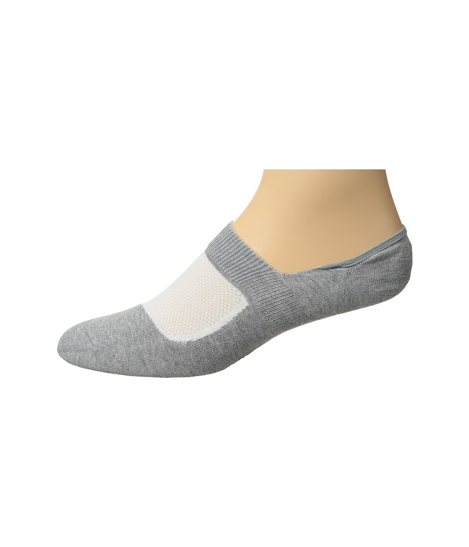 Falke - RU Legend? Invisible (Light Grey) Men's Crew Cut Socks Shoes