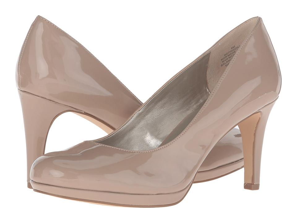 Bandolino - Priscilla (Natural Synthetic Wash Patent PU) Women's Shoes