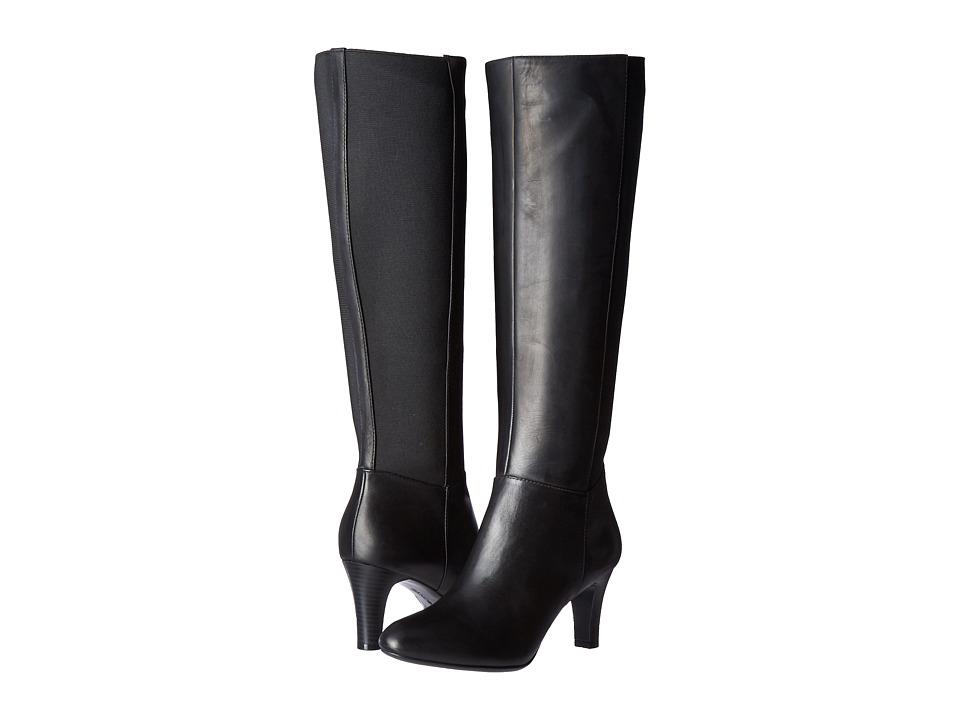 Bandolino - Winola (Black Semal Soft Crust/Gore) Women's Shoes