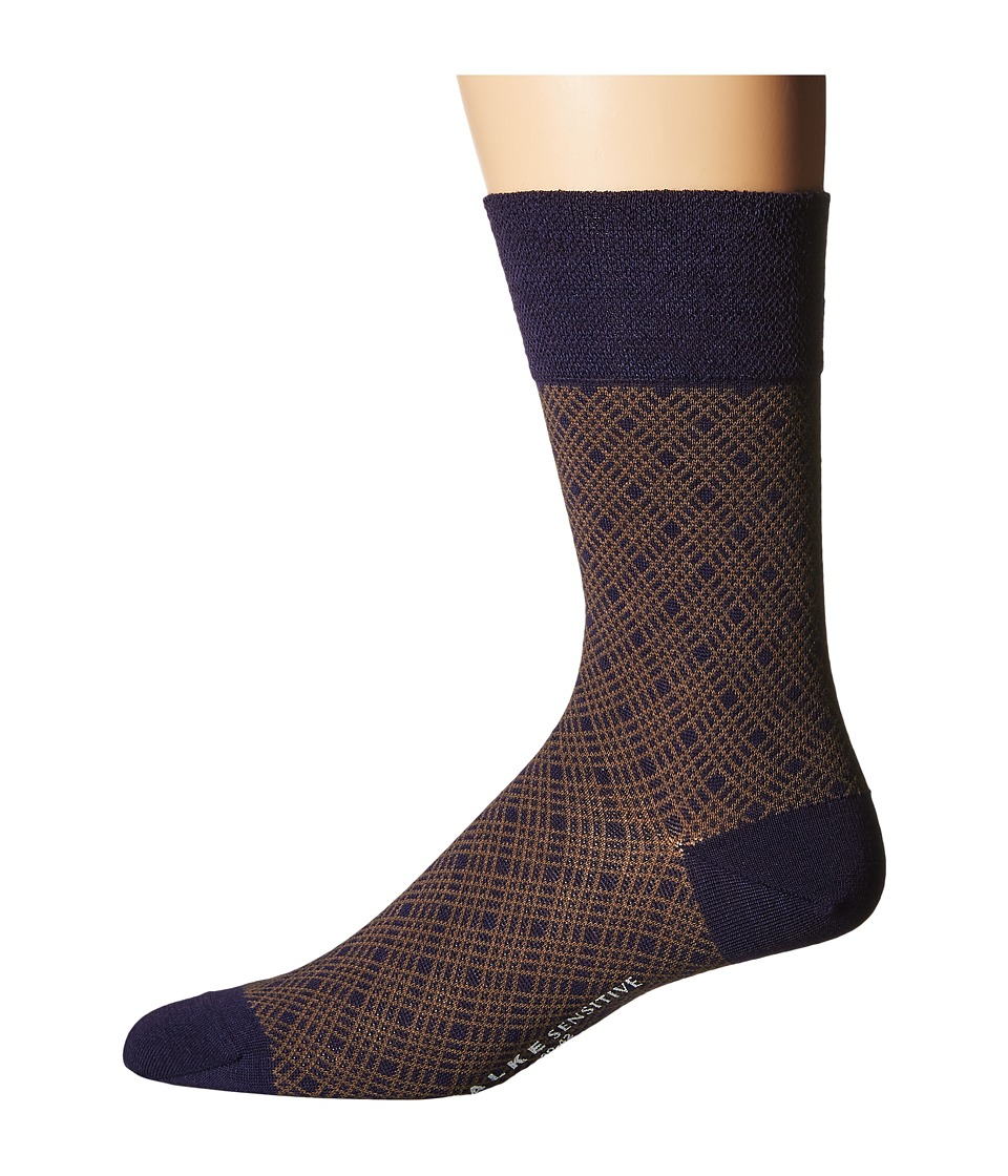 Falke - Sensitive Mineral Tie Sock (Tanzanite) Men's Crew Cut Socks Shoes