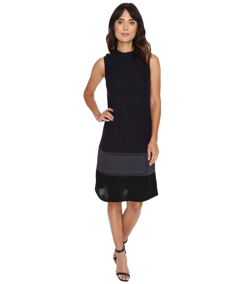 NIC+ZOE Tonal Tier Dress (Multi) Women