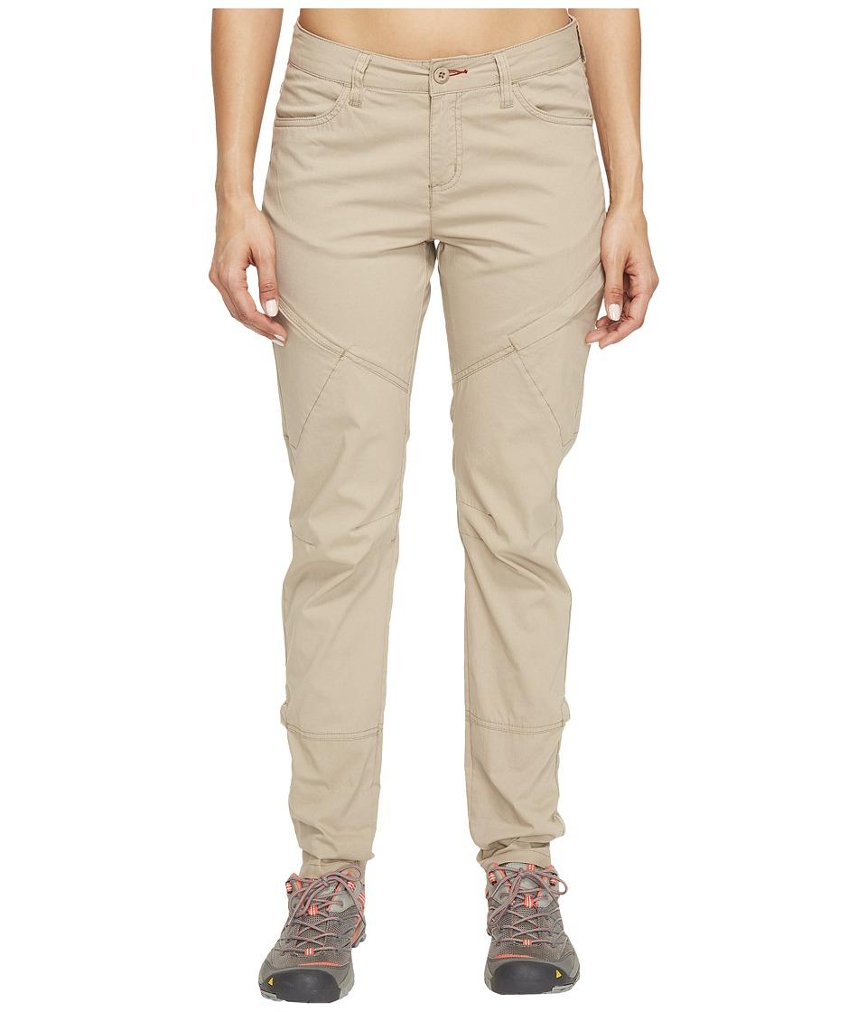 Toad&Co Summitline Hiking Pants (Buckskin) Women