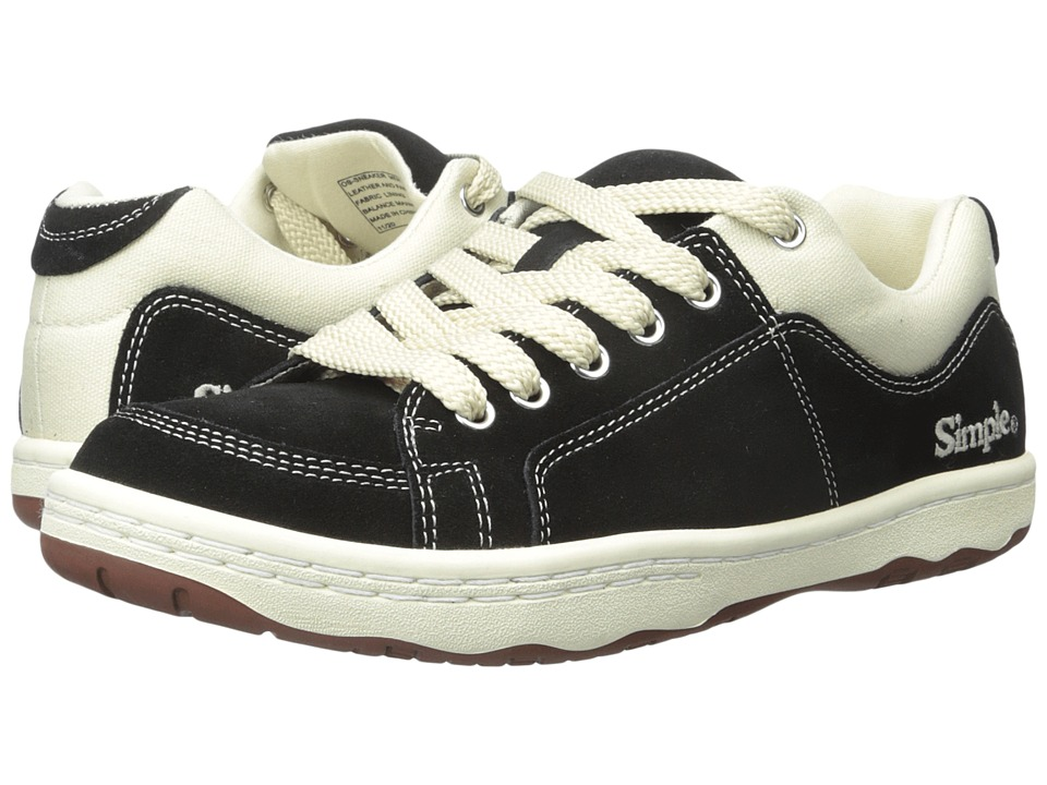 Simple - OS - Sneaker (Black) Men's Shoes