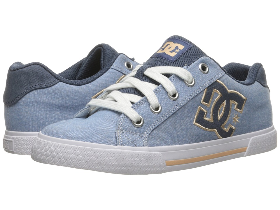 DC - Chelsea TX SE (Navy/White) Women's Skate Shoes