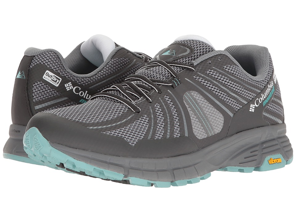 Columbia - Mojave Trail Outdry (Grey Ash/Iceberg) Women's Running Shoes