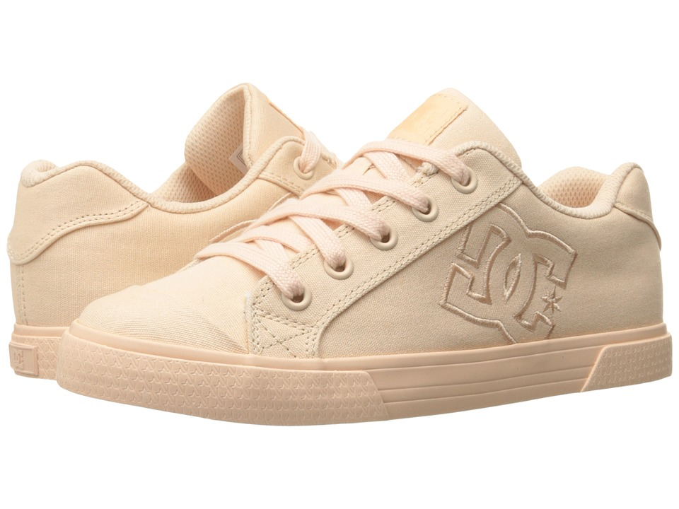 DC - Chelsea TX W (Peach Cream) Women's Lace up casual Shoes