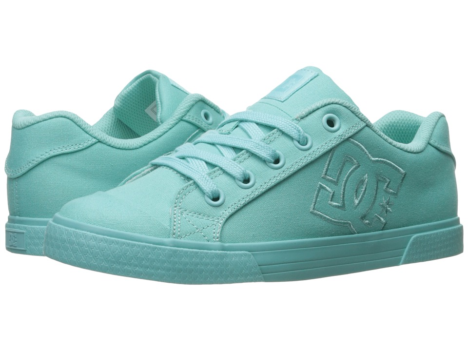 DC - Chelsea TX W (Aqua) Women's Lace up casual Shoes