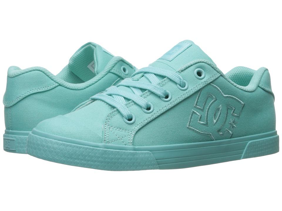 DC - Chelsea TX W (Aqua) Women's Lace up casual Shoes