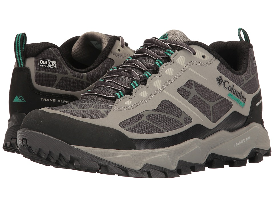 Columbia - Trans Alps II Outdry (Stratus/Dark Grey) Women's Running Shoes