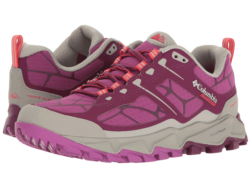 Columbia - Trans Alps II (Dark Raspberry/Red) Women's Running Shoes