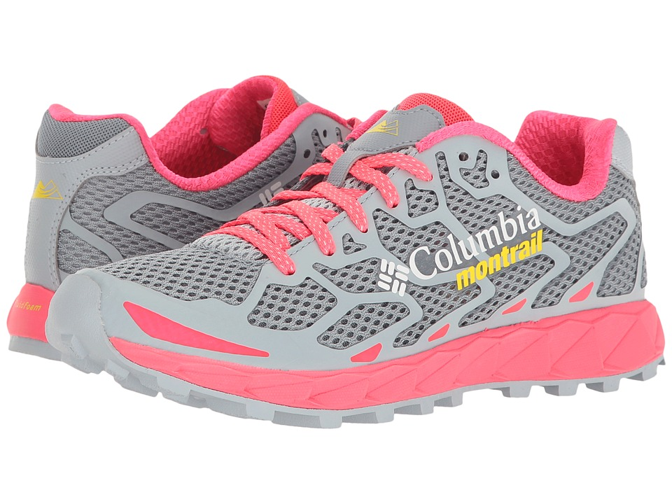 Columbia - Rogue F.K.T (Tradewinds Grey/Laser Red) Women's Running Shoes