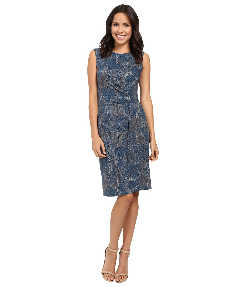 NIC+ZOE - Broken Pottery Twist Dress (Multi) Women's Dress