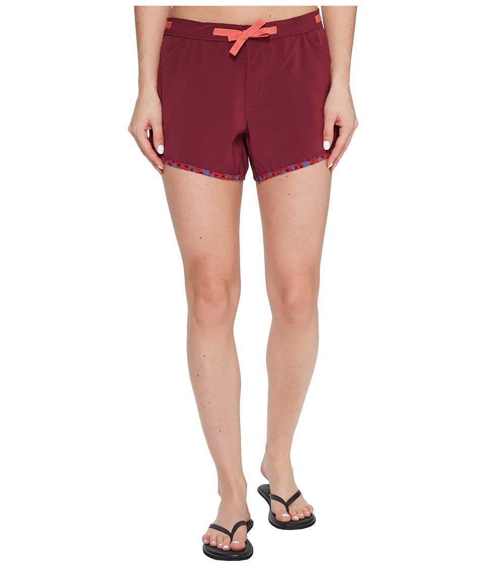 Toad&Co - Seaborn Boardie (Sangria) Women's Shorts
