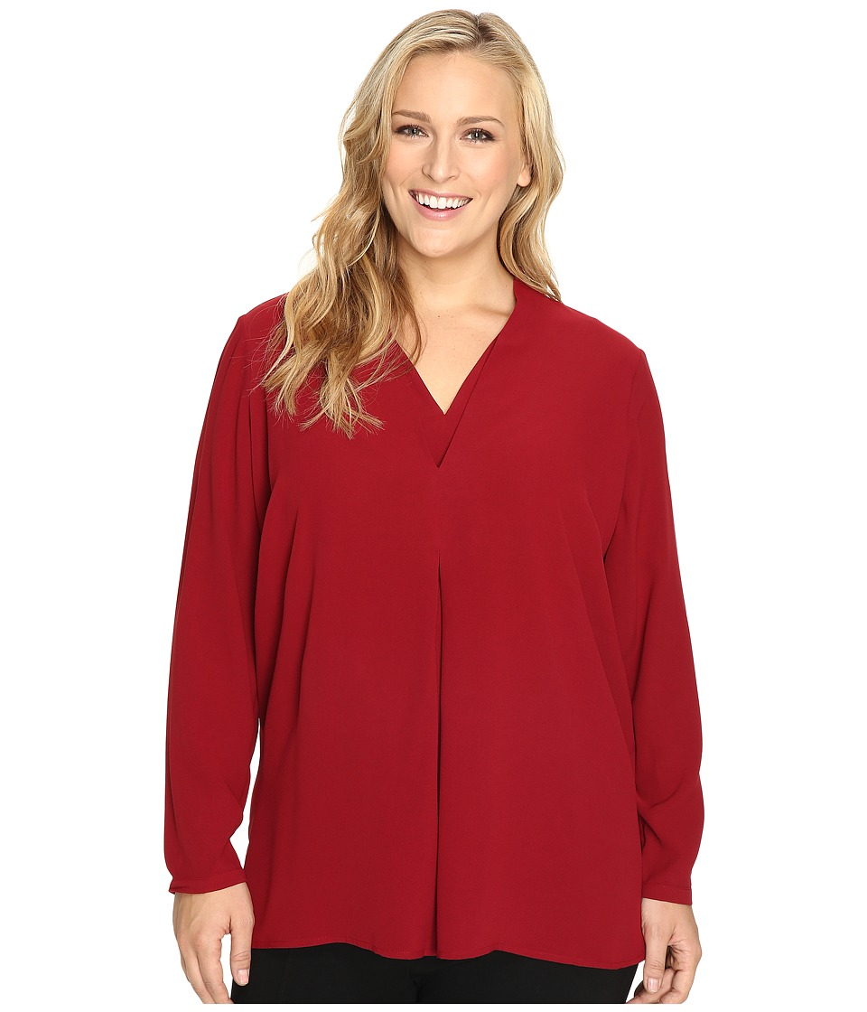 NIC+ZOE - Plus Size Minimalist Top (Oxide) Women's Clothing