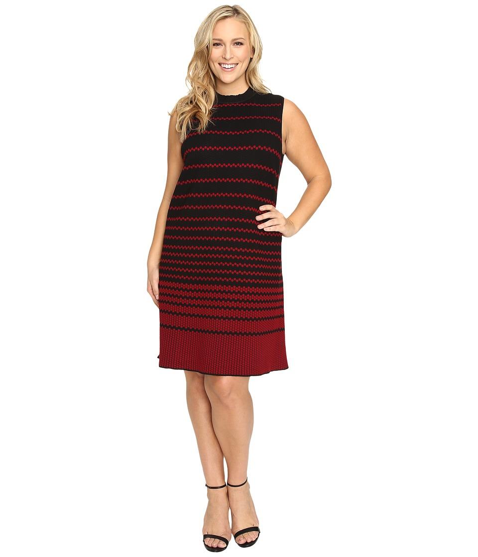 NIC+ZOE - Plus Size Fall Fever Dress (Multi) Women's Dress