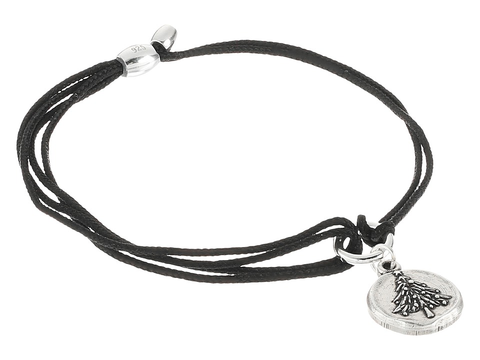 Alex and Ani - Kindred Cord Christmas Tree (Rafaelian Silver) Bracelet