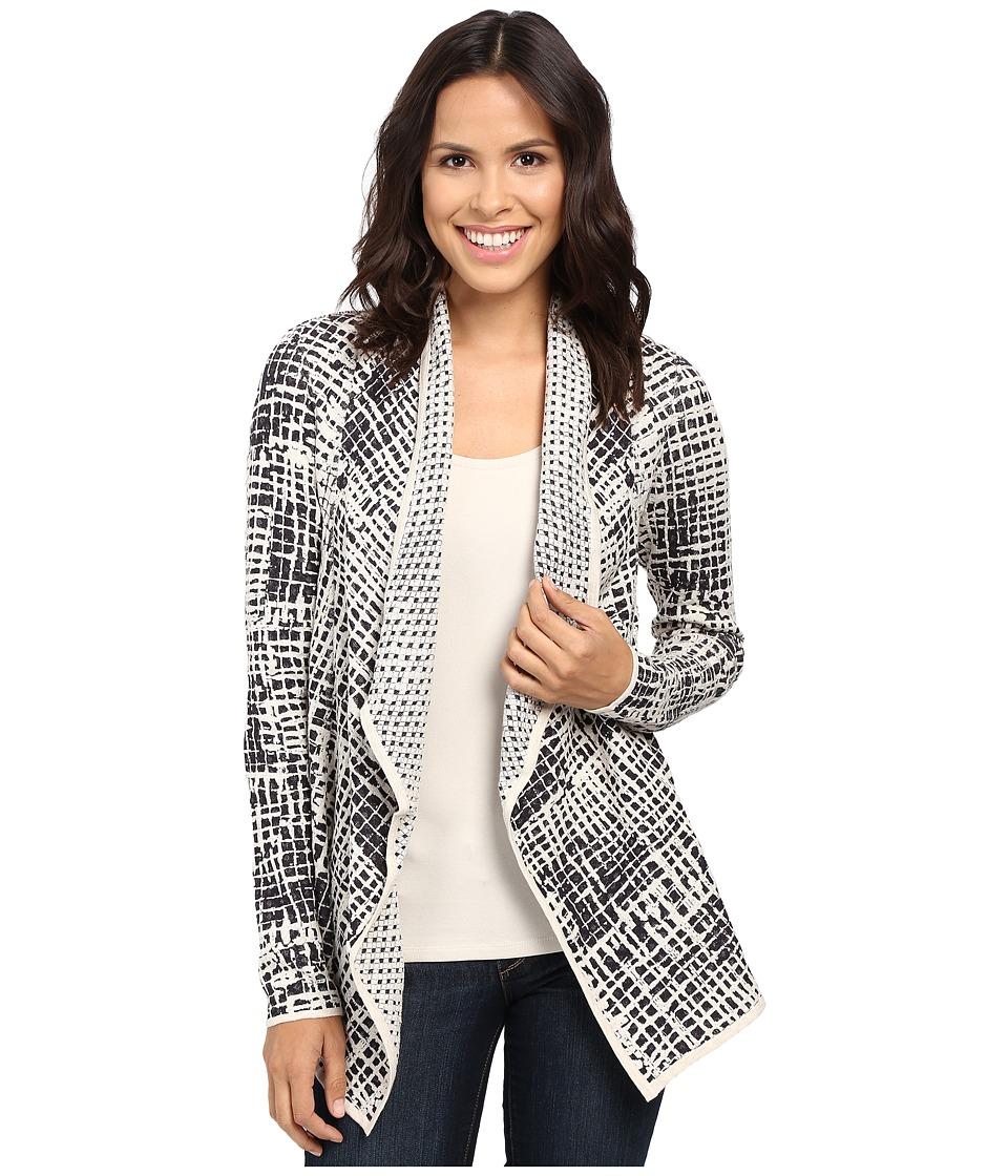NIC+ZOE - Brushstroke Cardy (Multi) Women's Sweater