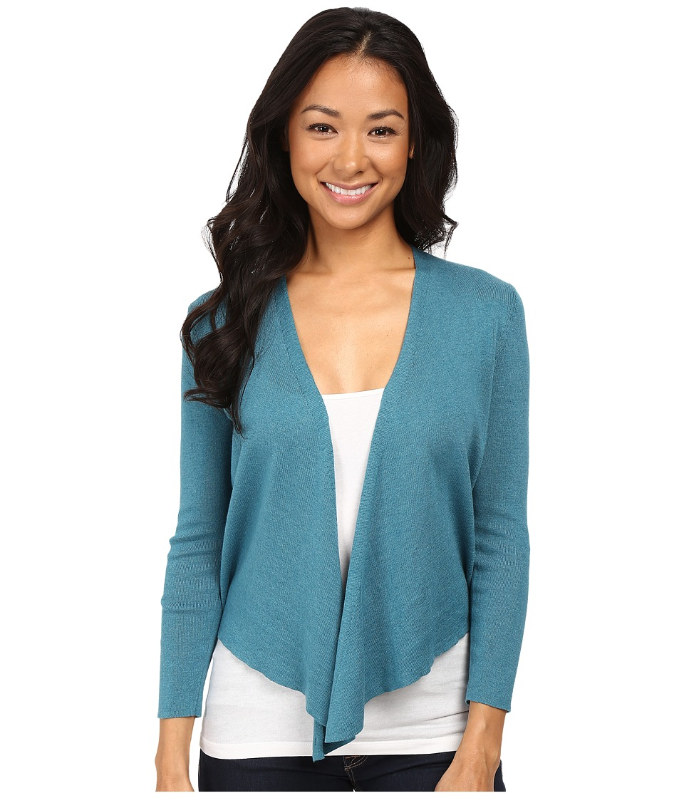 NIC+ZOE - Petite 4 Way Cardy (Deep Sea) Women's Sweater