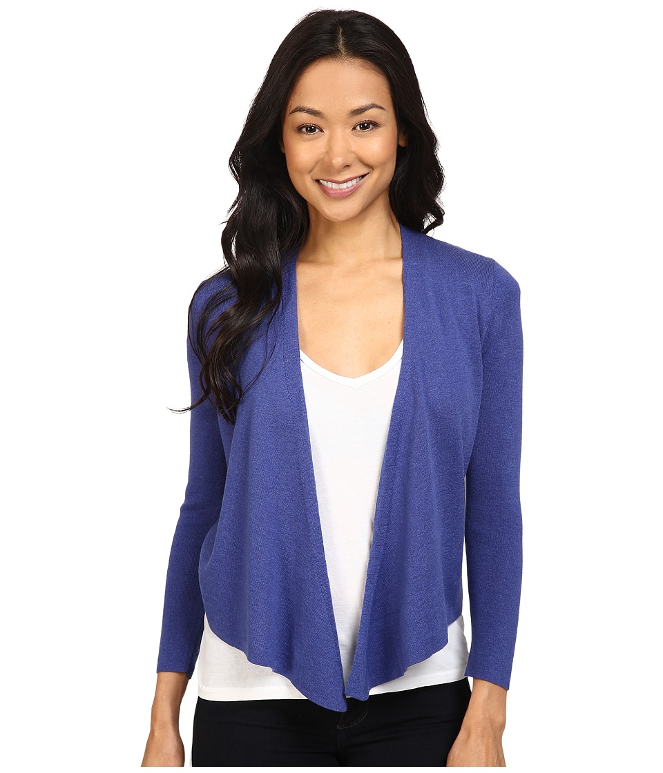 NIC+ZOE - Petite 4 Way Cardy (Wild Blue) Women's Sweater