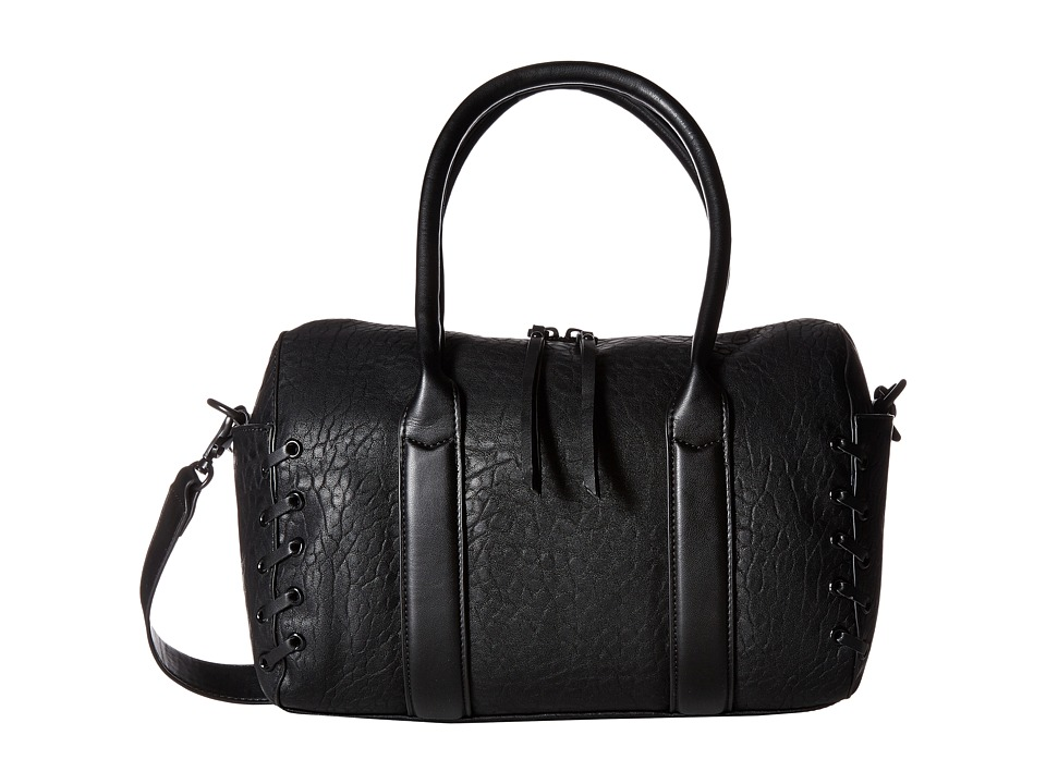 French Connection - Faye Satchel (Black) Satchel Handbags