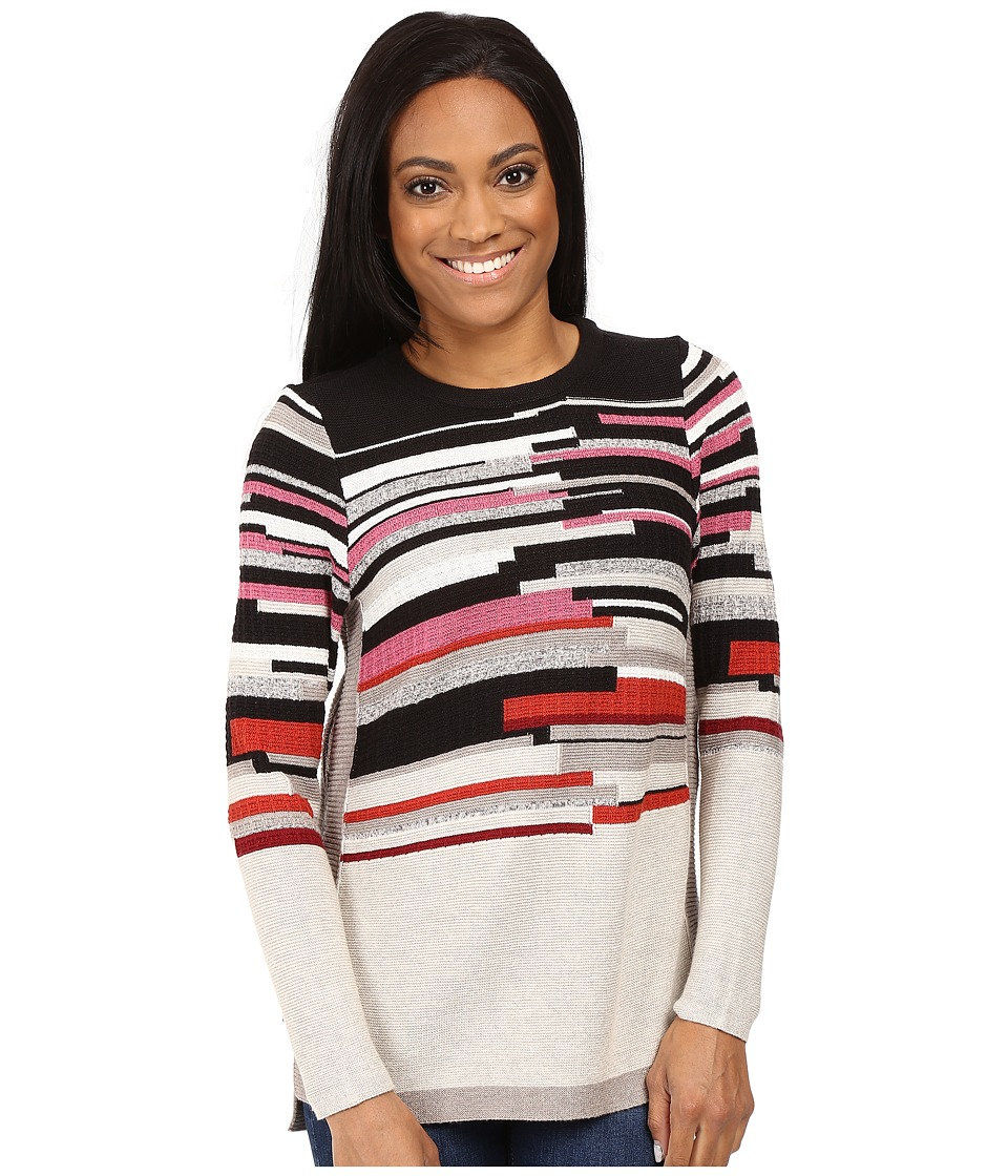 NIC+ZOE - Petite Tonal Tides Top (Baked Apple Mix) Women's Sweater