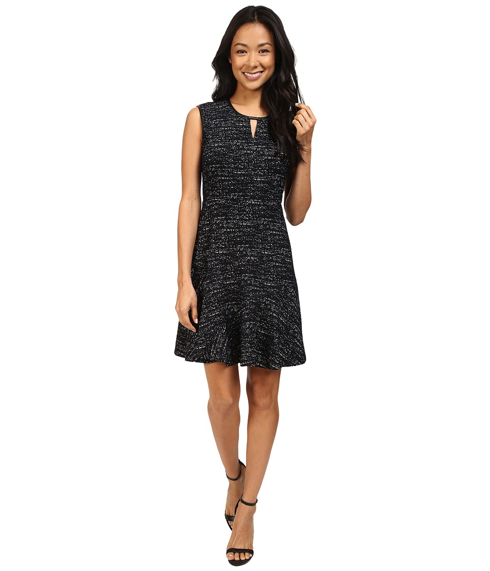 NIC+ZOE - Petite Tweed Jacquard Dress (Multi) Women's Dress