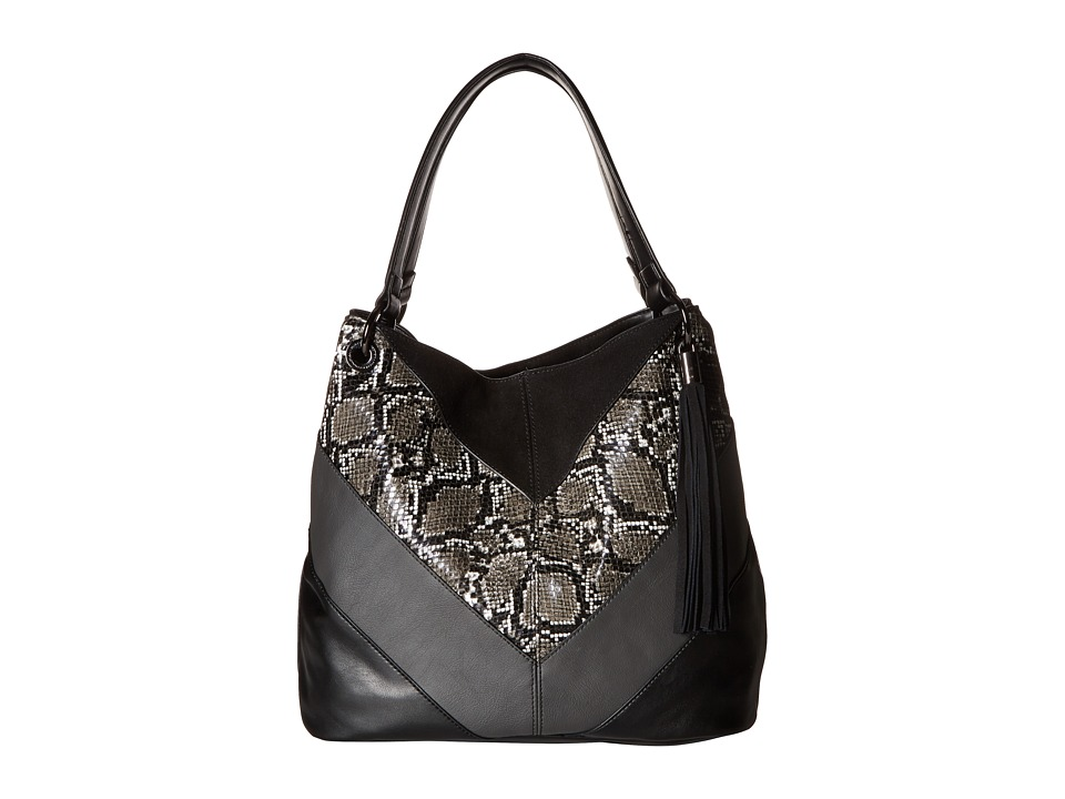 French Connection - Cruz Tote (Black Multi) Tote Handbags