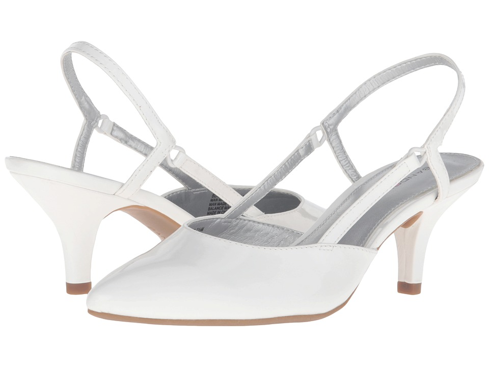 Bandolino - Ibelieve (White Patent) Women's Shoes