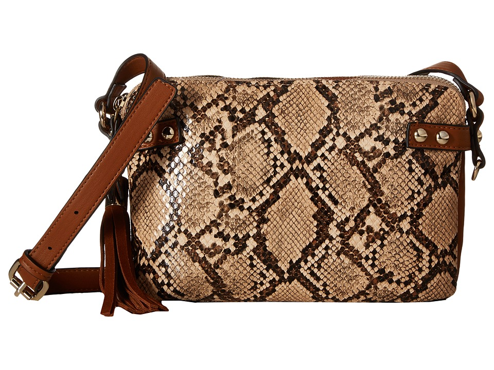 French Connection - Cruz Crossbody (Nutmeg Multi) Cross Body Handbags