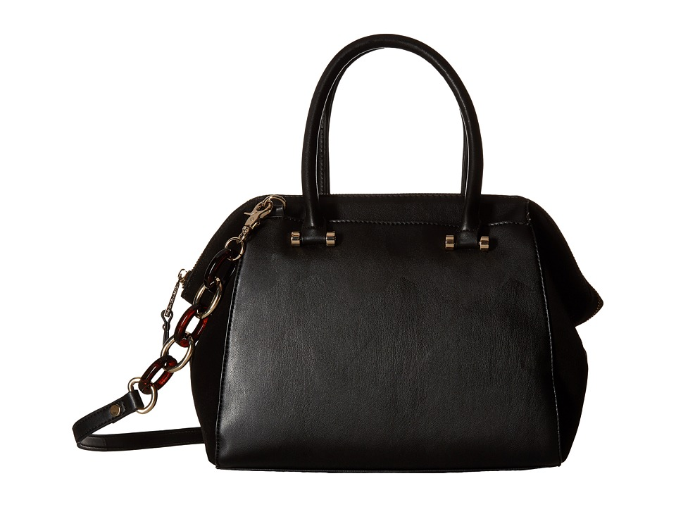 French Connection - Devin Satchel (Black) Satchel Handbags