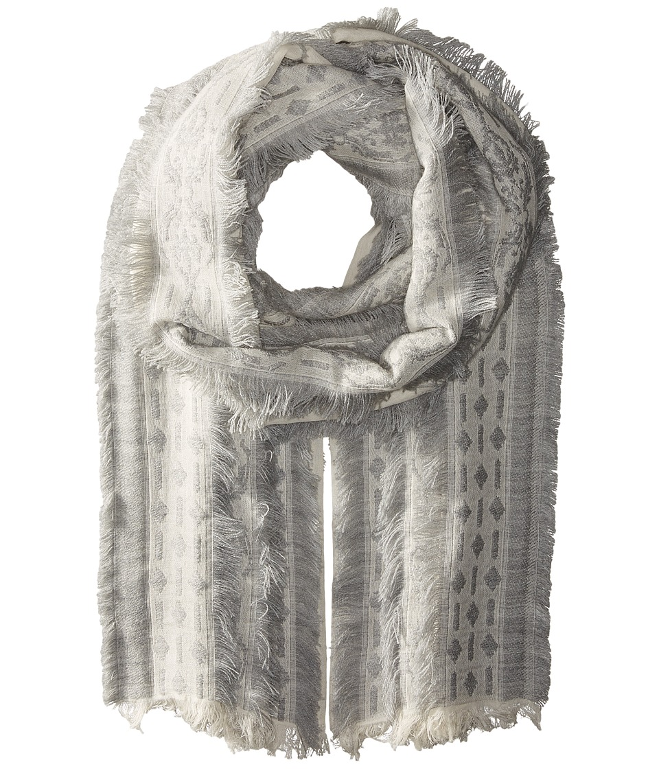Echo Design - All Frills Wrap (Silver) Scarves