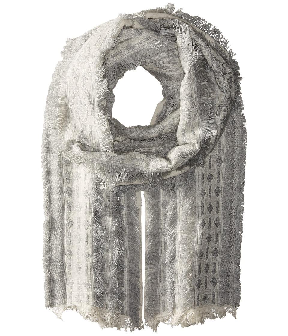Echo Design - All Frills Wrap (Silver) Scarves