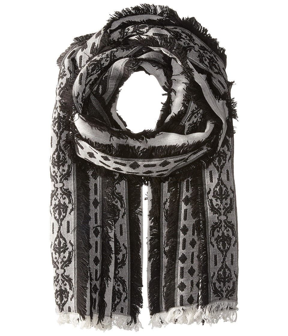 Echo Design - All Frills Wrap (Black) Scarves