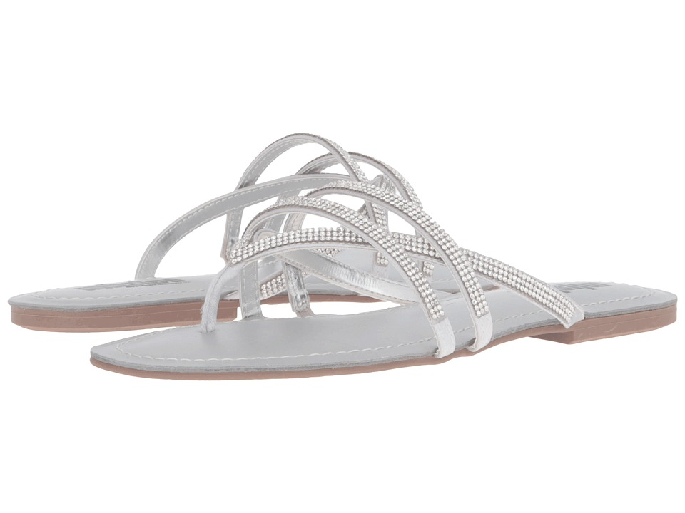 Kenneth Cole Unlisted - Favorite Coin MT (Silver) Women's Sandals