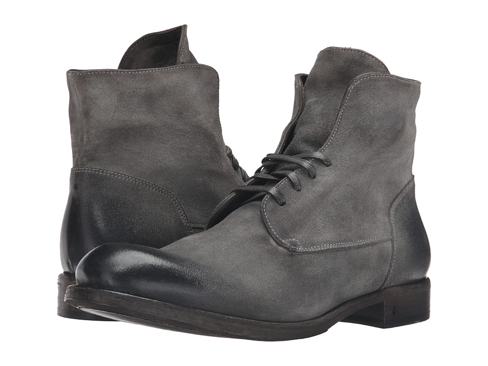 John Varvatos - Rivington Wire Boot (Steel Grey) Men's Lace-up Boots