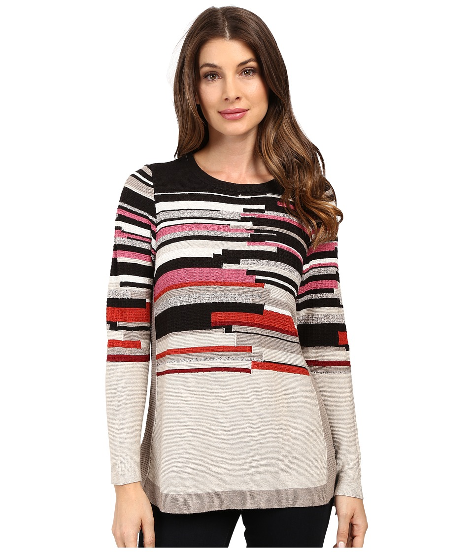 NIC+ZOE - Tonal Tides Top (Baked Apple Mix) Women's Sweater