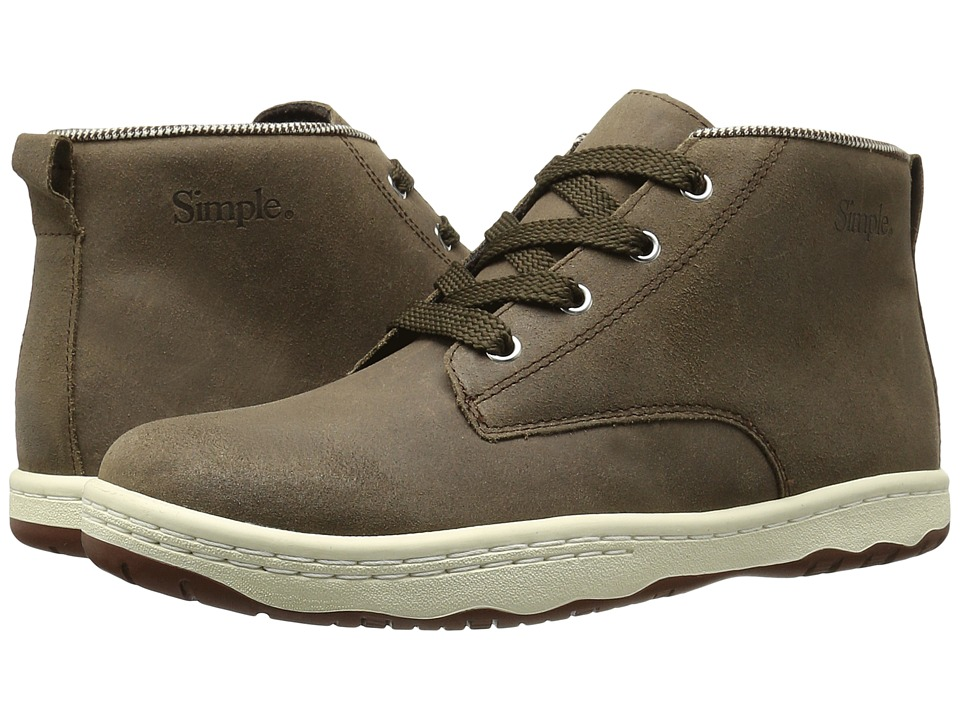 Simple - Barney-91 (Flint) Men's Shoes