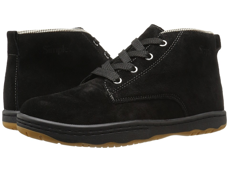 Simple - Barney-91 (Black) Men's Shoes