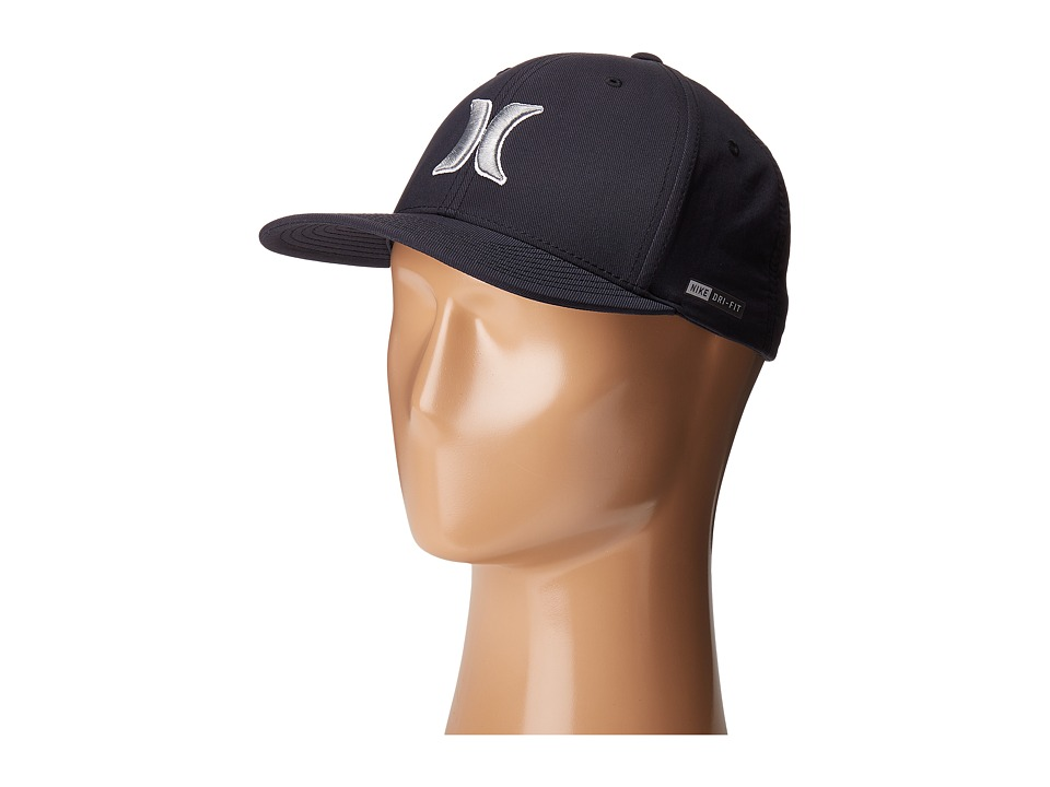 Hurley - Dri-Fit Outline 2.0 (Black) Caps