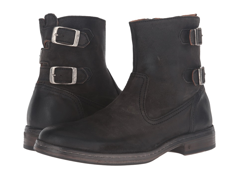 John Varvatos Julian Zip Boot (Steel Grey) Men
