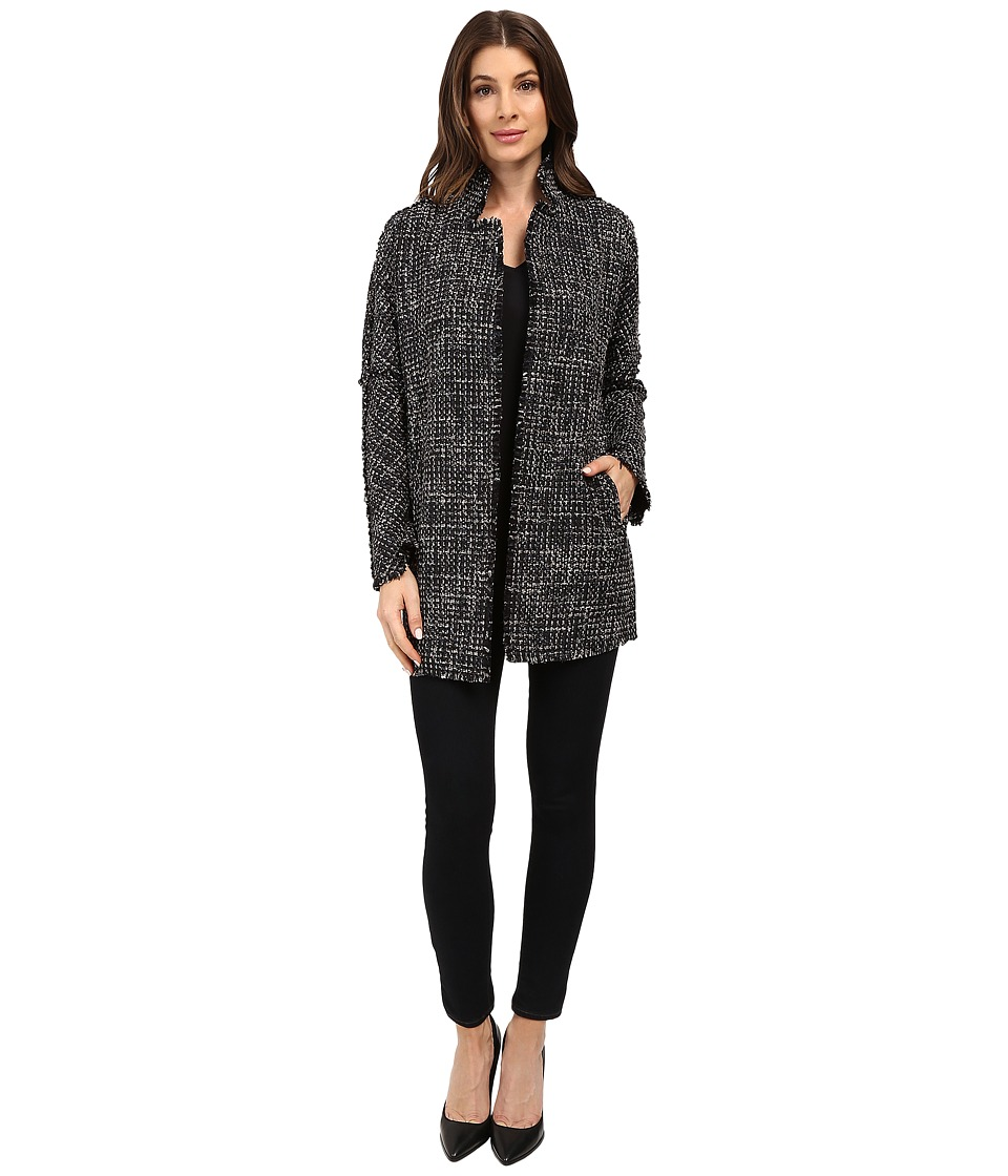 NIC+ZOE - Tweeded Jacket (Black Mix) Women's Jacket