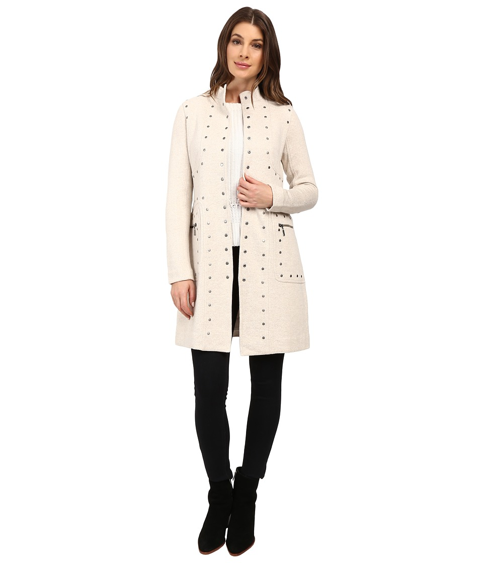 NIC+ZOE - Studded Up Jacket (Rainy Day) Women's Jacket