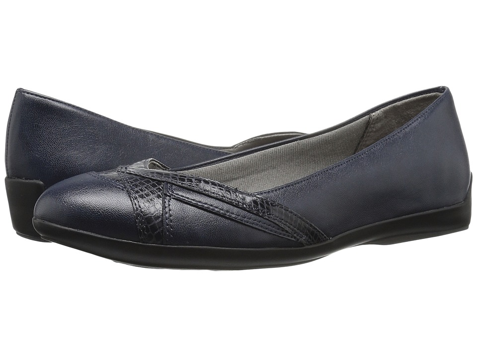LifeStride - Finale (Navy) Women's Shoes