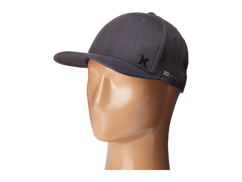 Hurley - Dri-Fit Flow (Black) Caps