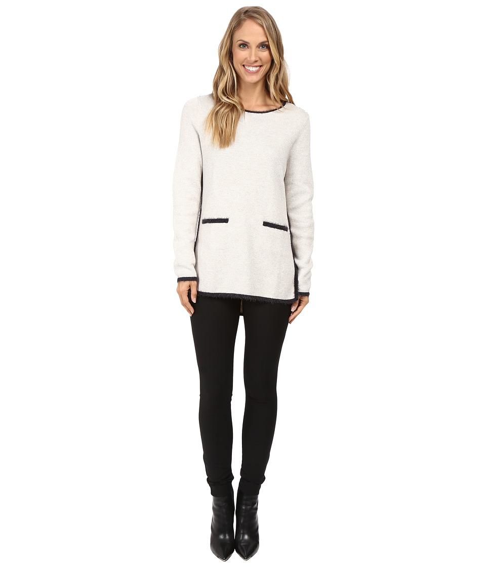 NIC+ZOE - Modern Pocket Top (Rainy Day) Women's Clothing
