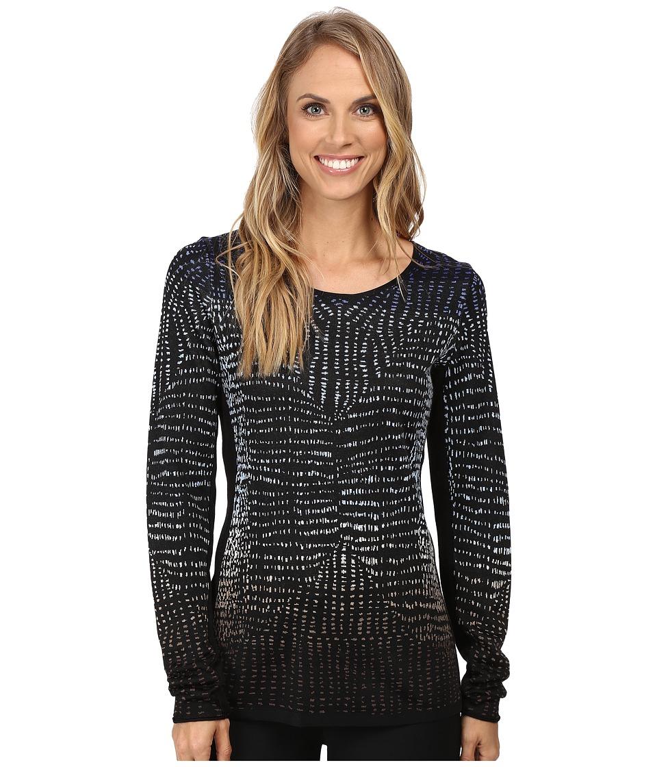 NIC+ZOE - Dotty Jacquard Top (Multi) Women's Clothing